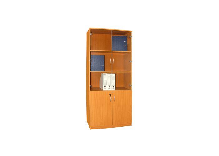 Офисная мебель, шкаф книжный д-129м купить по цене 5311.00 в.